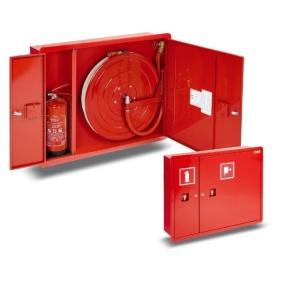 Hydrant wewnętrzny 25HP+GP-780-B.30-180 wnekowy, smukły, z miejscem na gaśnicę z boku