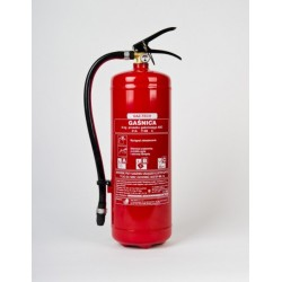 Gaśnica proszkowa GP-6 X ABC/E ( do 245000 V )